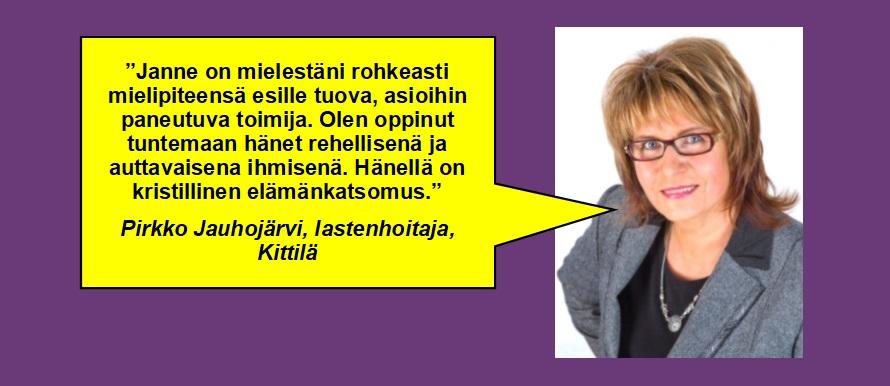 Pirkko Jauhojärvi